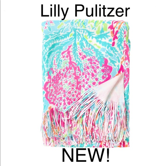 7cbc14b30ace73 Lilly Pulitzer Bedding | X Pottery Barn Lets Cha Cha Throw | Poshmark